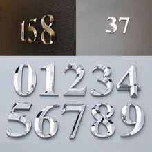 Stickers Door-Number Sign Address Apartment Self-Adhesive Office-Door 5cm Hotel 0-To-9