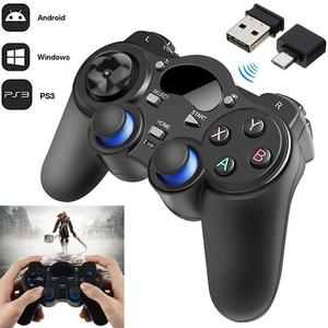 2.4G Wireless Gamepad With Nano Receiver Controller Gaming Gamepad Joystick Power Saving Mode For Android Tablet Phone PC TV