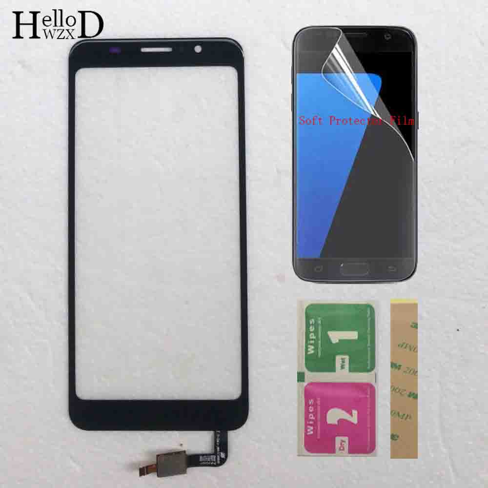 Touch Screen Glass For <font><b>Homtom</b></font> <font><b>C8</b></font> Touch Screen Digitizer 5.5'' For <font><b>Homtom</b></font> <font><b>C8</b></font> Touch Panel Sensor Phone Accessories Adhesive image