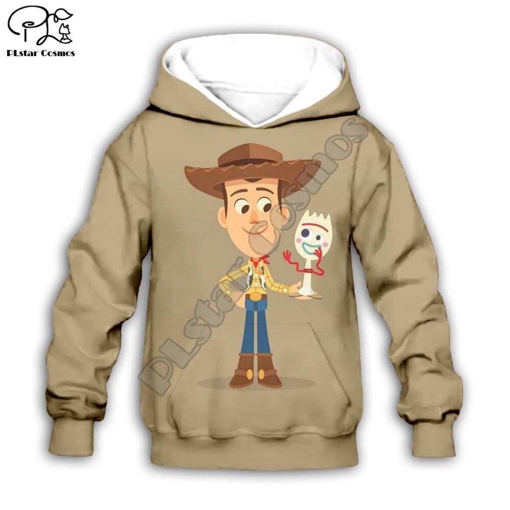 Kids Cloth Forky Toy Story 4 The Walking Toys 3d Hoodies/t Shirt/boy Sweatshirt Sherif Woody Cartoon Buzz Lightyear Pant Style-5