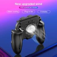 Per PUBG Mobile Gamepad cellulare controllo Mobile Joystick Gamer Android Game Pad Controller L1R1 per IPhone ventola di raffreddamento