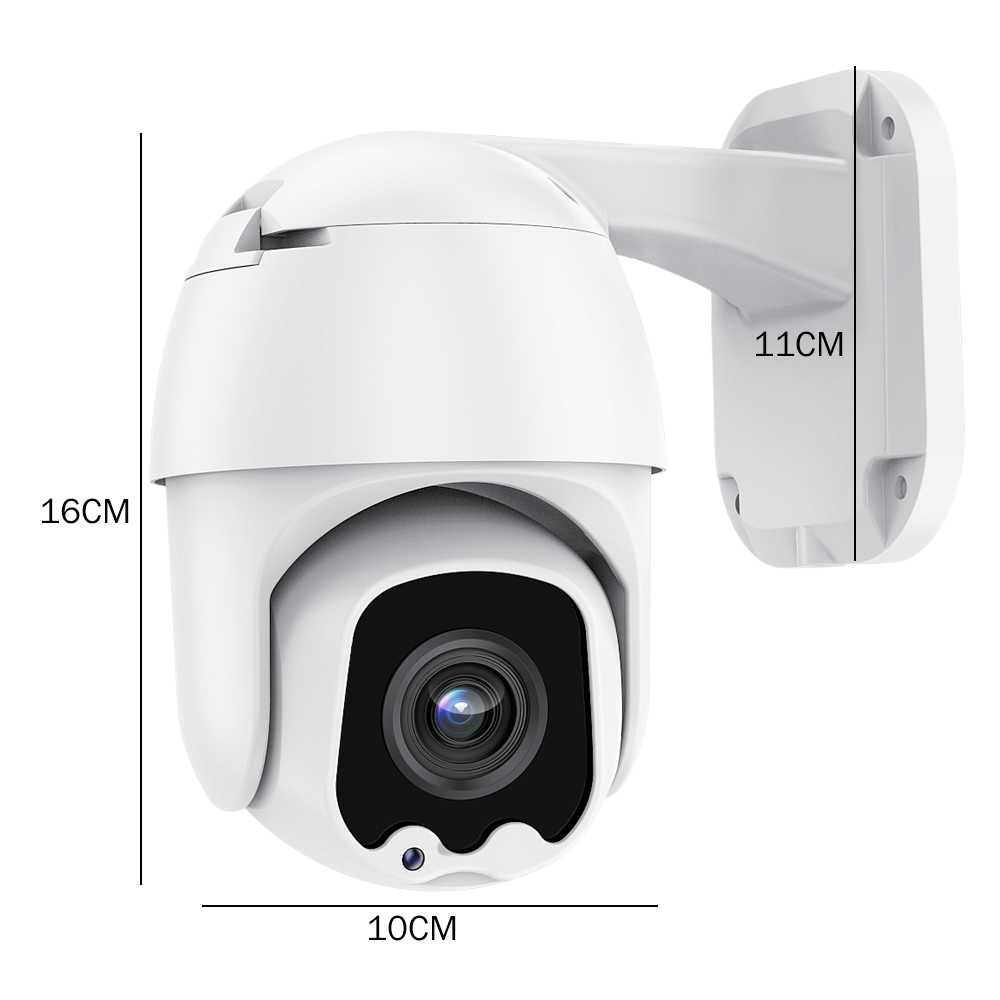 5x Optical Zoom 2.8-13.5 Mm Kamera AHD Kamera Keamanan Outdoor Tahan Air IP 66 AHD 5MP Kamera CCTV Malam visi 30M Jarak