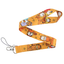 CA223 Wholesale 10pcs/lot Cat 2019 New Lanyard Key Strap for Phone Keys Cartoon Lanyards ID Badge With Key Ring Holder