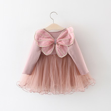 Baby Girls Dress Infant Kids Autumn Long Sleeve Lace Vestidos Toddle Fashoin Costume Wedding Party Dresses For Newborn 40