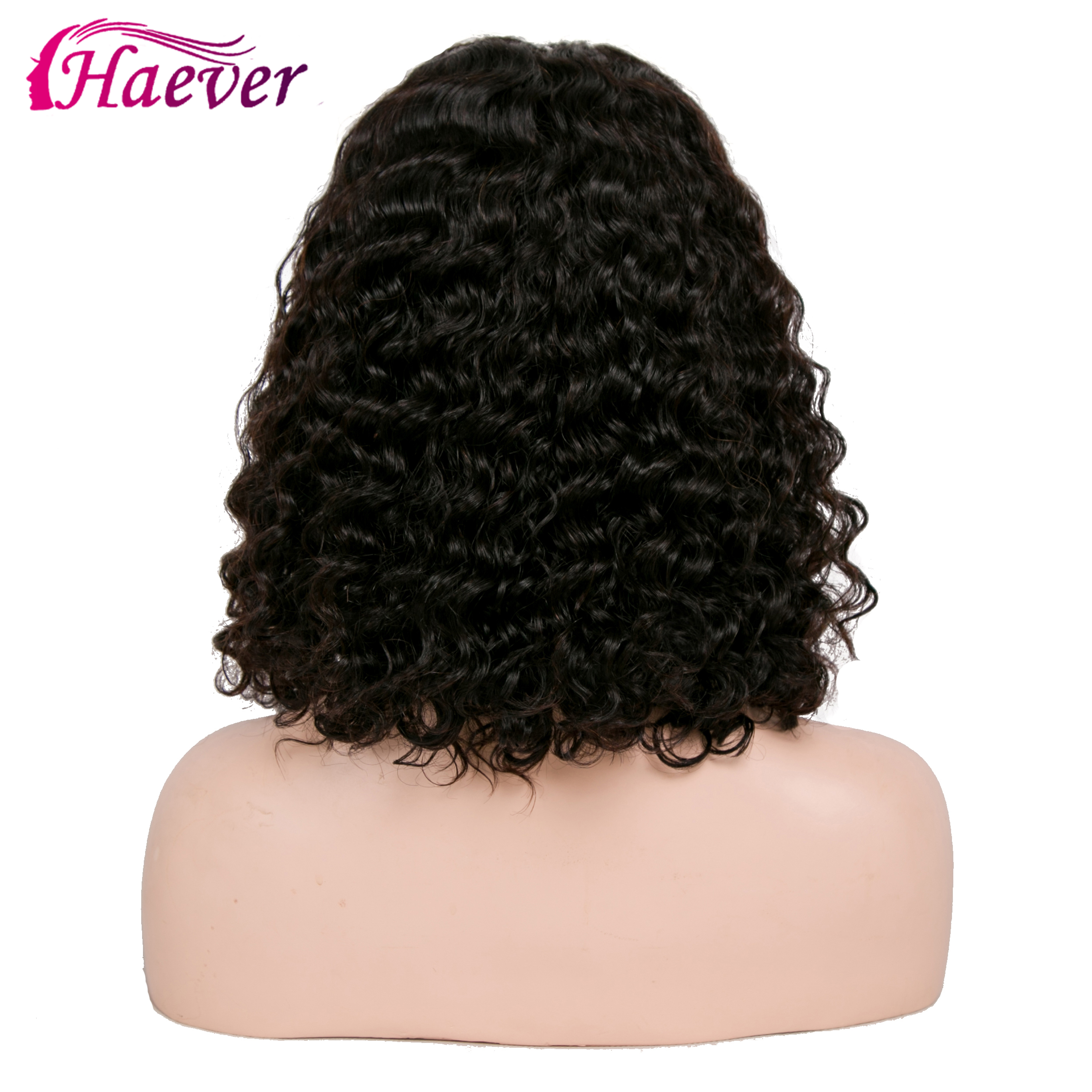 Haever Brazilian Kinky Curly Short Bob Wig 150% Lace Front Human New Hair Wigs For Woman 13x4 With Baby HairPre Plucked Remy