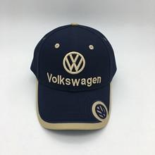Автомобильный логотип бейсболка Фольксваген вышивка шляпа производитель Пользовательский логотип хип-хоп кепки, шляпы