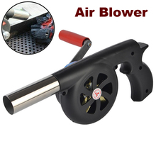 Barbecue-Fan Cooking-Tool Air-Blower Fire Hand-Cranked-Grill Camping-Accessories Portable Bbq