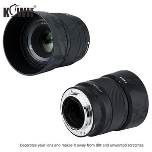 Image 4 - Anti kras Camera lens Huid Film Kit voor Sony FE 50mm F1.8 (SEL50F18F) lens & ALC SH146 Zonnekap 3M Sticker Protector