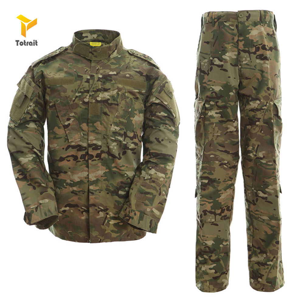 TOtrait Multicam Black Military Uniform Camouflage Suit Tactical Camouflage Airsoft Paintball Equipment Clothes