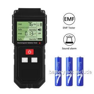 Mini Handheld Geiger Counter Electric Emission Dosimeter for 4G 5G Electromagnetic Field Radiation Dosimeter Emf Meter Tester