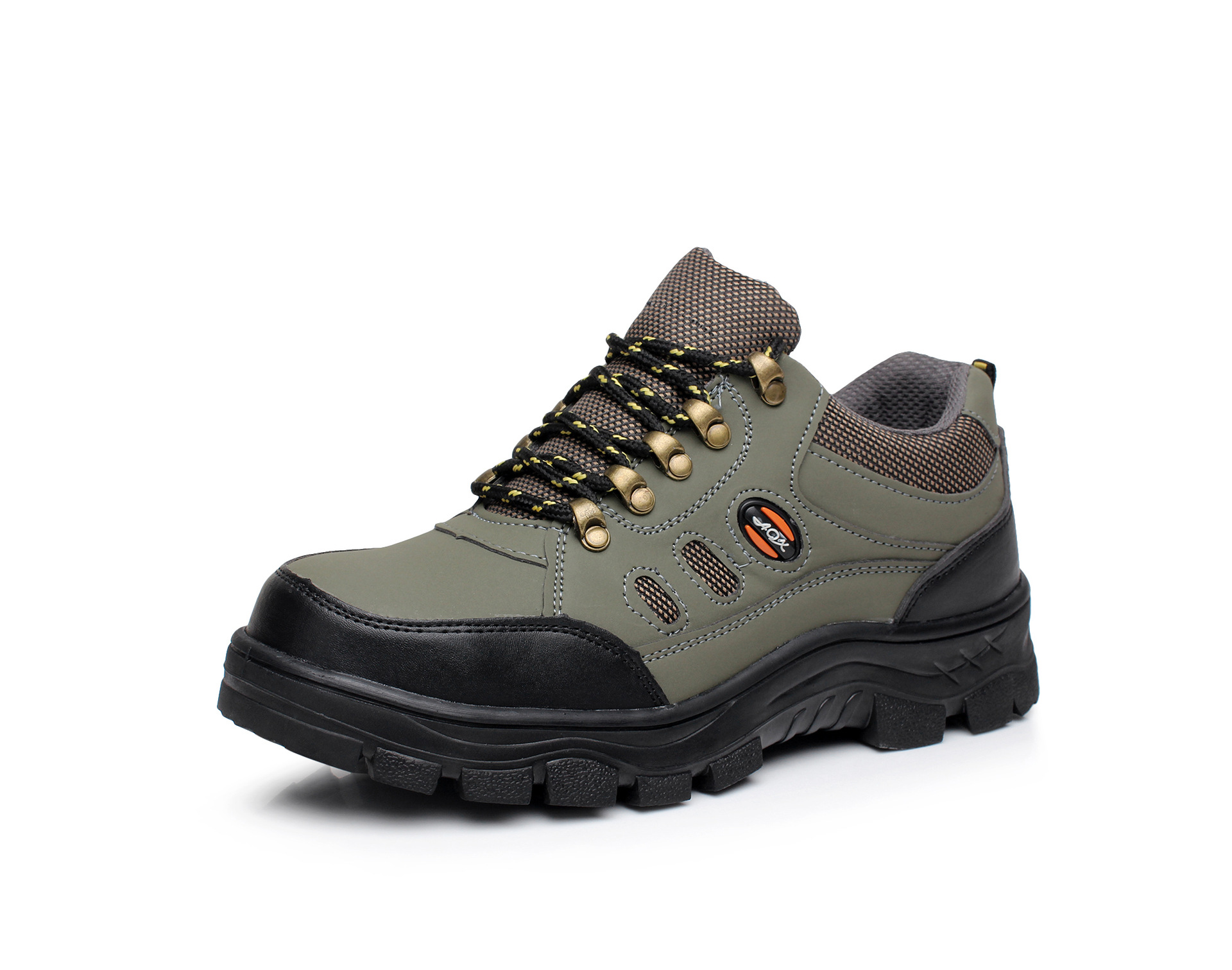 Currently Available Wholesale Cowhide Safety Shoes Spring And Autumn Summer Breathable Anti-smashing And Anti-penetration Manufa