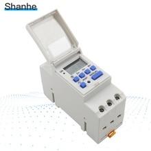 Производитель THC15A электронный Еженедельный 7 дней программируемый цифровой таймер реле управления din-рейкой tp8a16