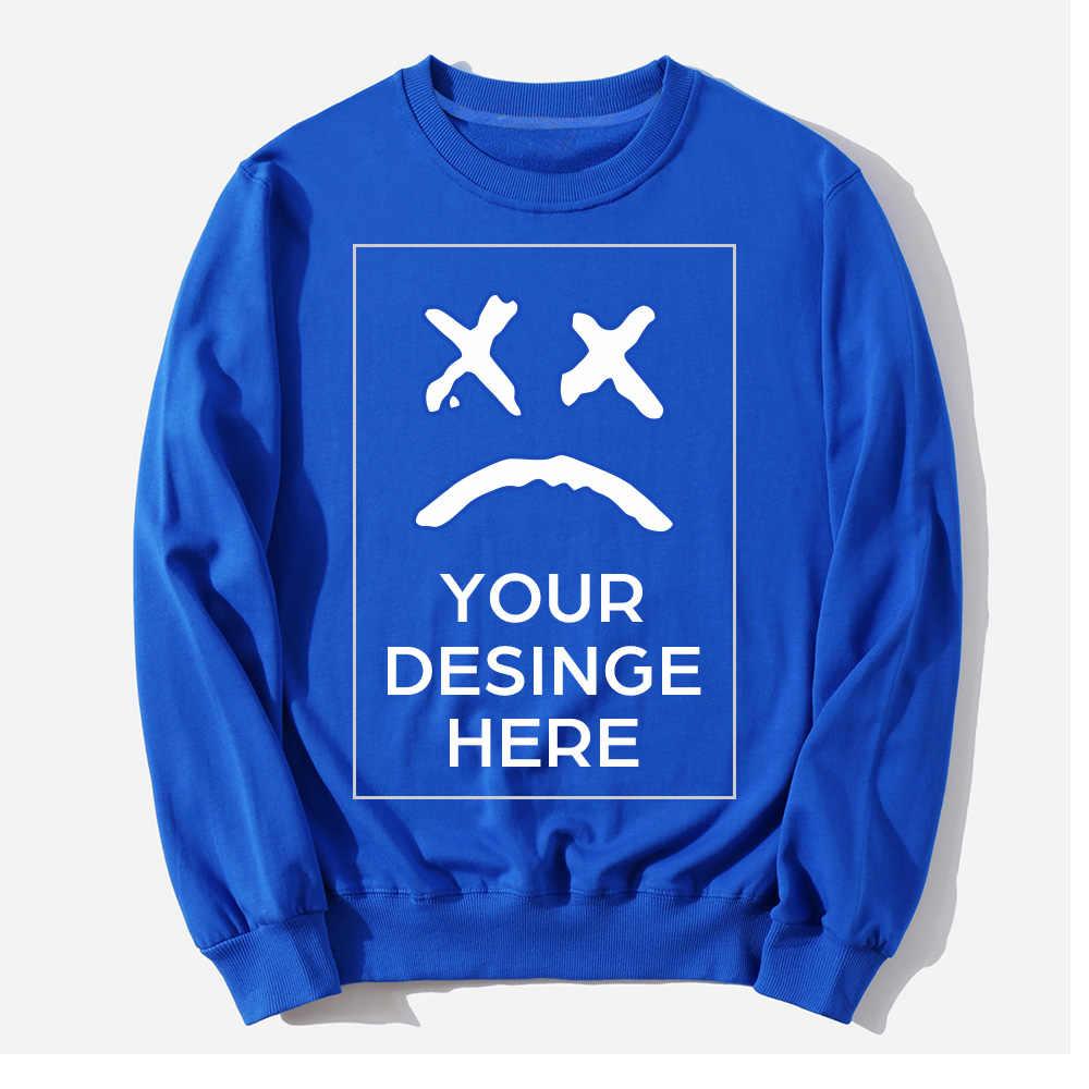 2020 nowa wiosna jesień moda bluzy męski płaszcz na co dzień mężczyźni odzież nadrukowane logo na zamówienie projekt własne marki bluzy bluzy