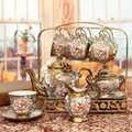 Hochzeit Europäischen Keramik Haushalt Wasser Tasse Teegeschirr Set Kreative Wohnzimmer Wärme Beständig Kühlung Wasser Topf Hochzeit Geschenk