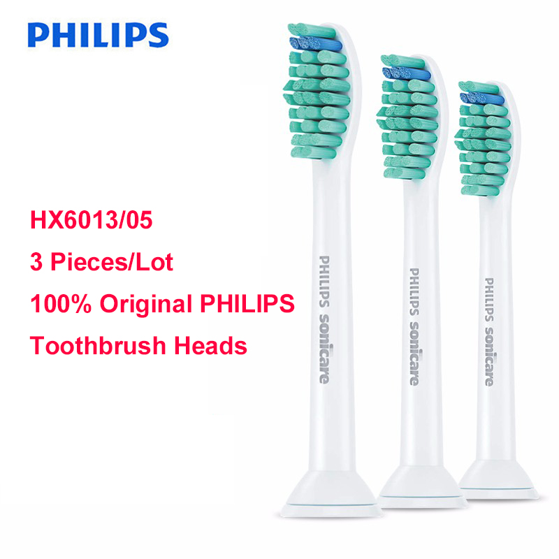 Replacement Toothbrush Heads for HX6013/05 HX6930 HX9340 HX6950 HX6710 HX9140 HX6530 3pcs/lot Philips Sonicare ProResults image