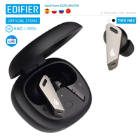 EDIFIER TWSNB2 TWS ANC Wireless noise canceling earphone tws gaming earbuds bluetooth 5.0 32h playback time Edifier Connect APP