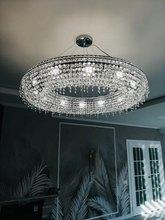 Phube LED K9 โคมระย้าคริสตัล Luster โมเดิร์นโคมไฟระย้าแสงสีโคมไฟระย้าจัดส่งฟรี