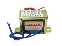 Voltagem saída 2  ac 6v 9v 12v 15v 18v 24v 36v 30v w ei entrada 220v/380v 50hz ~ 60hz  transformador de energia de cobre de tensão única/dupla