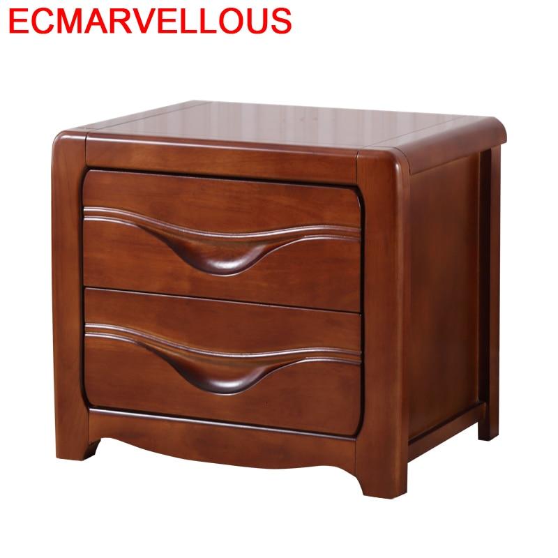 Mobilya Nachtkastje Mesa Auxiliar European Shabby Chic Wood Bedroom Furniture Quarto Mueble De Dormitorio Cabinet Bedside Table