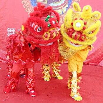 Adult Dance Lion Clothing Lion Dance Props Whole Set Double Southern Lion Lion Dance Props Dance Lion Lion фото
