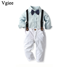 Vgiee Kid Clothes Boys Set for Wedding and Party Birthday Gift Full Fall Winter Baby Christmas Outfits Children Clothing CC744