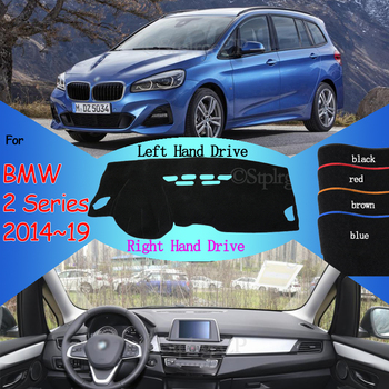 for BMW 2 Series F22 F45 Coupe Gran Active Tourer Anti-Slip Anti-UV Mat Dashboard Cover Pad Dashmat Carpet Accessories 218i 220i image