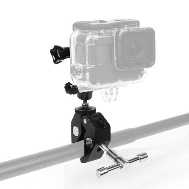 Silah balıkçılık çubuk yay ok sopa sabit klip tutucu GoPro Hero 7 6 5 4 3 SJCAM Eken eylem kamera