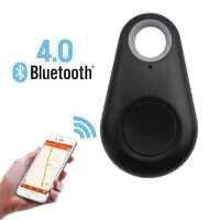 Pets Smart Mini GPS Tracker Waterproof Bluetooth ABS Tracer Pet Dog Cat Wallet Bag Kids Anti-Lost Trackers Finder Equipment
