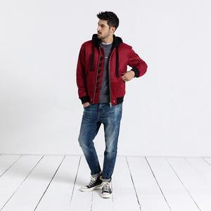 Image 3 - Мужские облегающие джинсы SIMWOOD, рваные джинсовые брюки, штаны из денима, 2019, уличная одежда батальных размеров, 190019