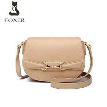 FOXER 2020 New women leather shoulder crossbody bags for women luxury handbags women bags designer bags famous brand women bags