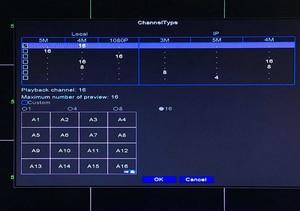 Image 5 - Nastro Pannello HI3531D H.265 + Xmeye 5MP 16CH 16 Canale 6 in 1 Audio WIFI Hybrid Coassiale ONVIF TVi CVI IP NVR AHD CCTV DVR