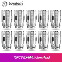 Original Joyetech EX-M Mesh Coil head 0.4ohm For exceed grip pod cartridge EXCEED GRIP kit Mesh Cotton Electronic Cigarette