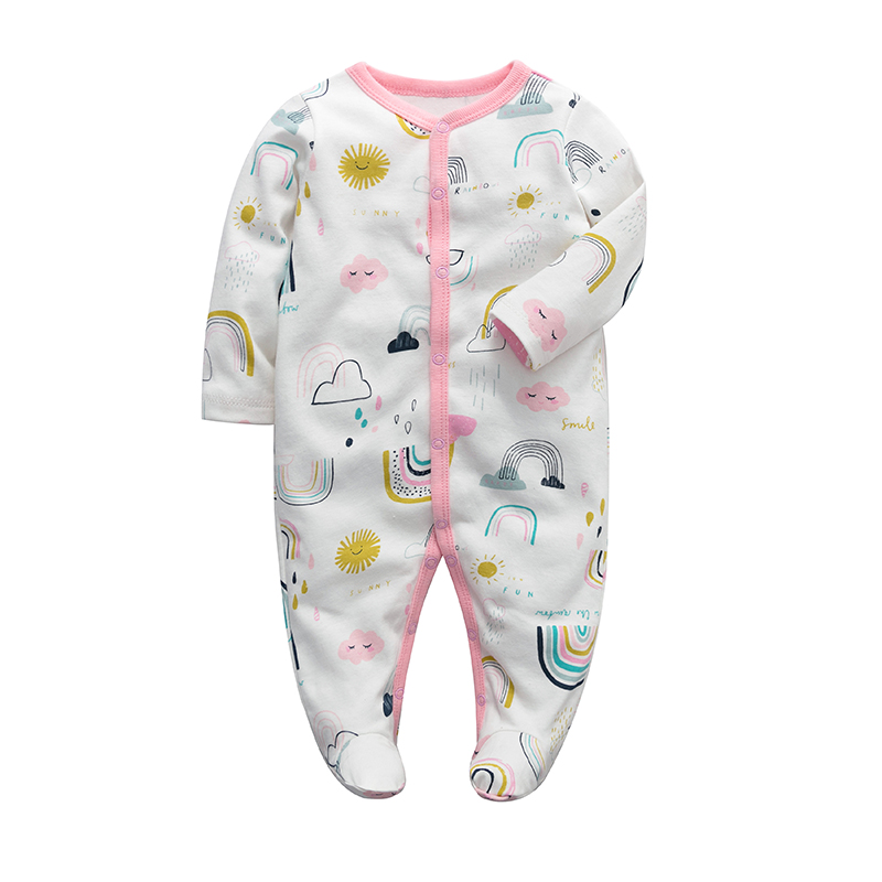 New Baby Romper 100% Cotton Long Sleeves Baby Clothing Comfortable Baby Pajamas Newborn Baby Girls Boys Clothes