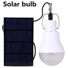 Solar LED Rechargeable Lamp Home Portable Outdoor Lighting Portable Camp Tent Mobile Camping Emergency Bulb cheap BiNFU Ni-MH two years IP44 None 3 7V LED Bulbs Modern