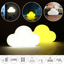 Cloud Night Light Usb Charging Cartoon Children Bedroom Intelligent Sound Control Touch Table Lamp