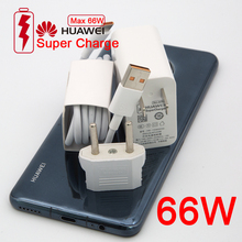 Originele Huawei Usb Wall Charger Travel Supercharge Fast Charger Max 66W Met 6A Kabel Huawei Mate40 30 P40 Pro nova8 Se P30