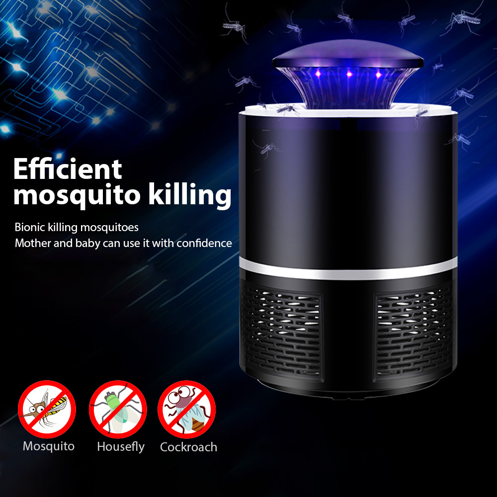 Hiyork Mosquito Killer Lamp USB Electric No Noise No Radiation Insect Killer Flies Trap Lamp Anti Mosquito Lamp Home Mosquito