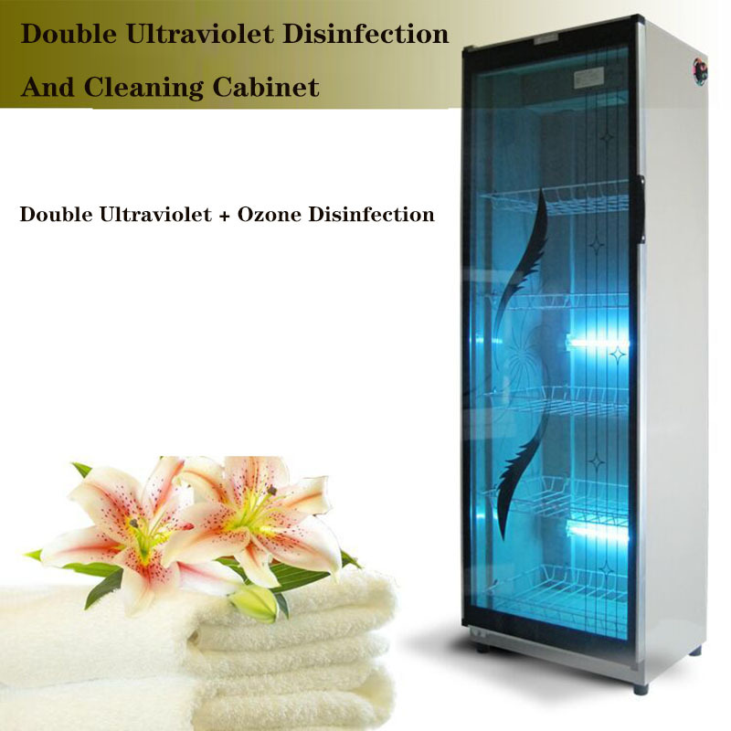 Beauty Salon Barber Shop Slippers Clothes Towel Single Door Vertical Disinfection Cabinet 3D Glasses Disinfection Cabinet