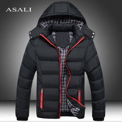 2020 Winter Men's Thick Coats Hooded Parkas Mens Jackets Warm Breathable Coat Male Overcoat Mens Brand Clothing 5XL