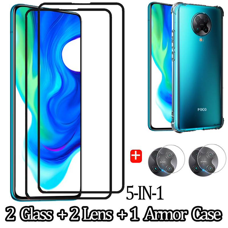 5 Pcs <font><b>Camera</b></font> Glass for Pocophone F2 Pro <font><b>Xiaomi</b></font> Mi9TPro 3D Glass <font><b>Protector</b></font> pocofon f2 pro <font><b>mi9</b></font> t Tempered Glass 6.67'' in Poco-F2 image