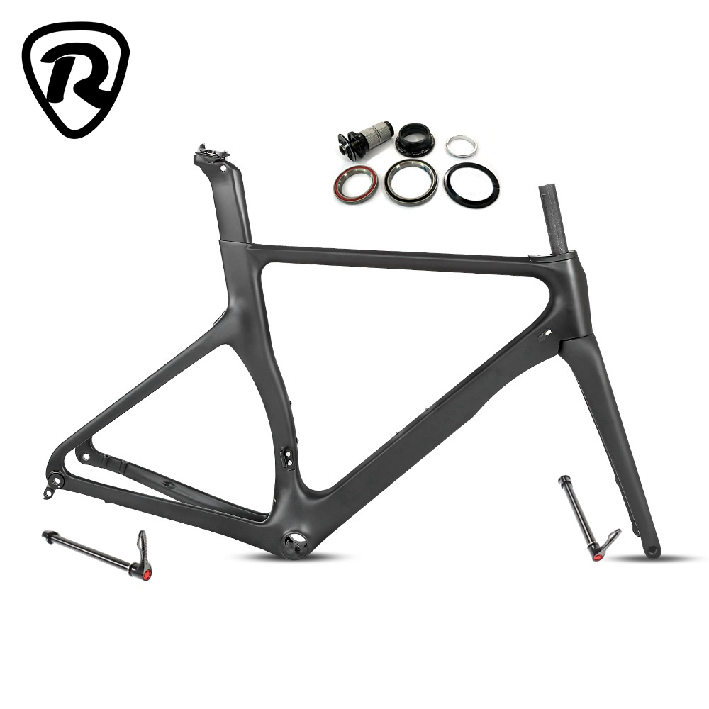 R3 Carbon Road Frame Disc Brake 700C 2020 New arrival Thru axle 12*142mm Racing Gravel Bike Bicycle Frameset 52 54cm title=