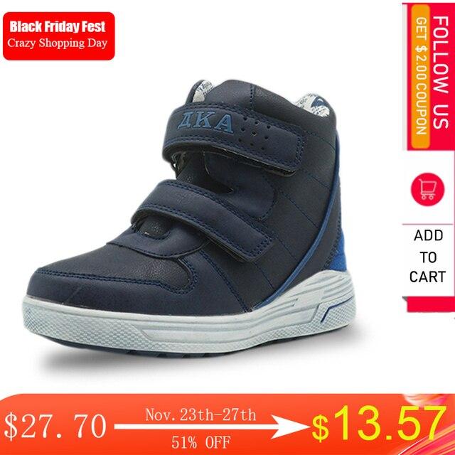 Apakowa outono meninos botas duplo gancho & loops crianças primavera botas com design zip para a criança crianças largas pernas terno crianças sapatos