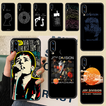 Joy Division Ian Curtis Phone case For Huawei Honor 6 7 8 9 10 10i 20 A C X Lite Pro Play black luxury prime fashion Etui soft image