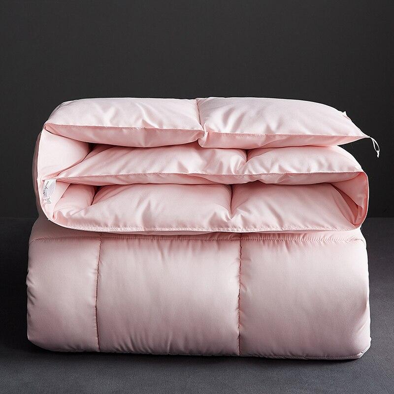 Alta qualidade engrossar inverno consolador vendas quentes muito grosso cama edredon barato e confortável colcha ab lado retalhos consolador