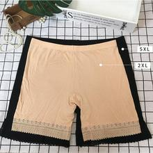 Pants Anti-Chafing-Legs Safety High-Elastic Plus-Size Women for 309 150KG Gloss MAX