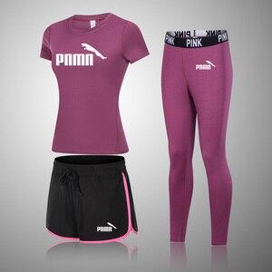 Mulheres sem costura conjuntos de yoga do sexo feminino esporte ginásio ternos usar correndo roupas de fitness esporte yoga terno manga curta roupas de yoga