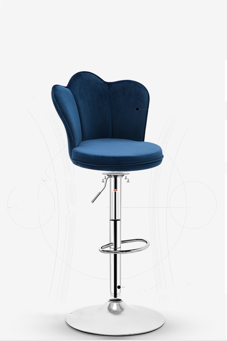 Bar Chair Lift High Stool Simple Bar Stool Nordic Chair Bar Chair High Stool Home Bar Chair