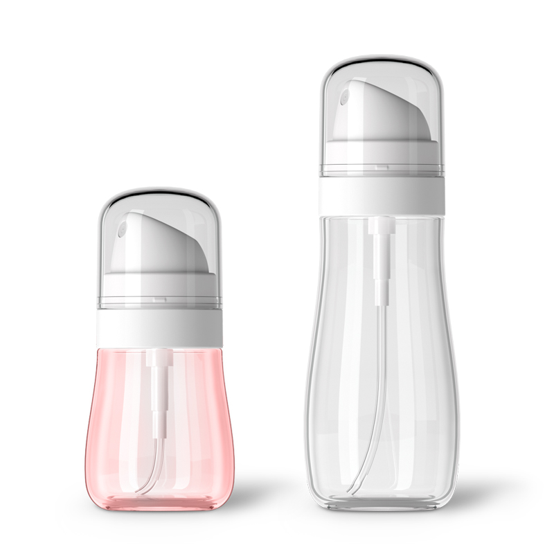 50/100ML Travel Cosmetic Bottle Portable Lotion Soap Body Wash Professional Transparent Points Bottling Plastic Lotion Bottle