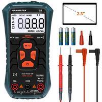 HANMATEK Multimeter S1 Ture-RMS Automatic Ranging Multimeter Automatic Multi Tester Electrical Voltage Ammeter Ohm Tester