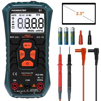 HANMATEK Multimeter S1 Ture-RMS Automatic Ranging Multi Tester Electrical Voltage Ammeter Ohm - discount item  44% OFF Measurement & Analysis Instruments